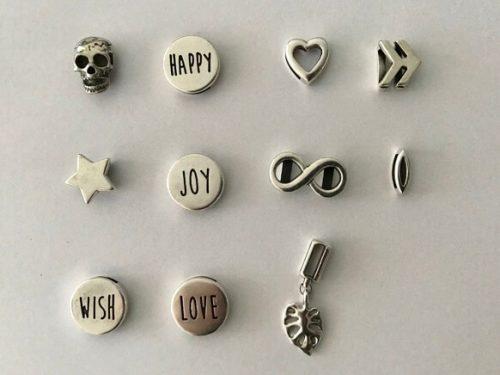 Metallbuchstaben - Silbern